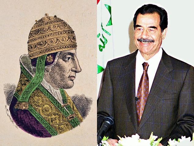 I fatti del 13 dicembre, dal Gran rifiuto di Celestino V alla cattura di Saddam