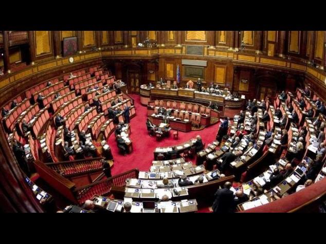 Italian Senate debates constitutional reform bill