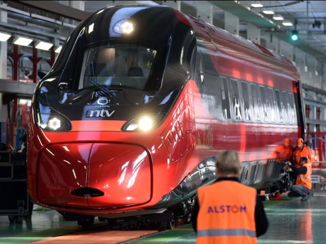 Italo, svelato il primo Pendolino Alstom