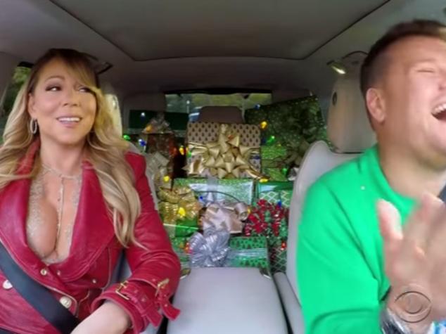 La collezione per Natale di Carpool Karaoke