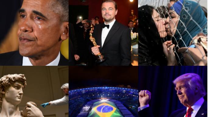 Il 2016 raccontato in 120 foto