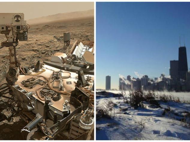 I record di Chicago, è più fredda di Marte