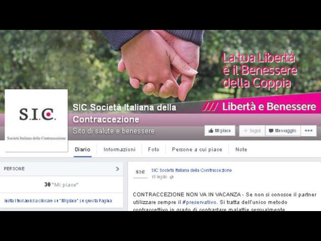 """Contraccezione """"2. 0"""" sul sito Sic"""