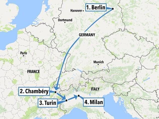 Da Berlino a Milano, il viaggio di Anis Amri e le cose che non tornano