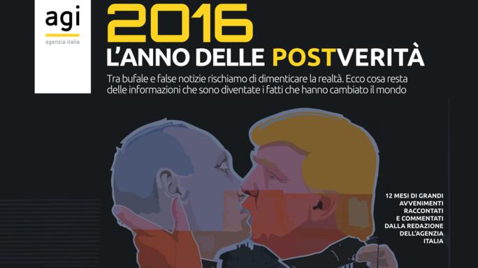 2016 - L'anno delle post-verità, quel che resta dei fatti