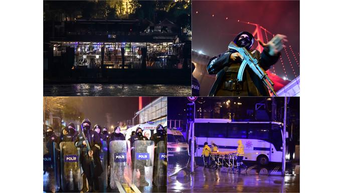 "Strage a Istanbul, 39 morti ""Killer gridava Allah Akbar"""