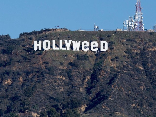 Per una notte Hollywood diventa Hollyweed
