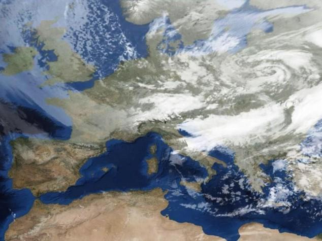 Gelo e neve anche al Sud