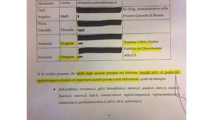 No, gli hacker non avevano le password di Renzi e Draghi