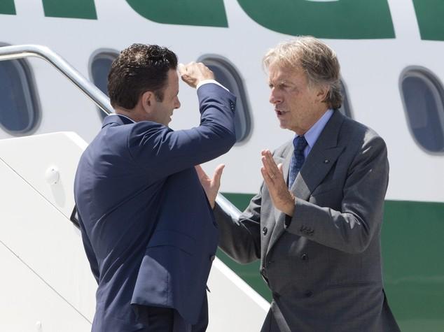 Quale futuro per Alitalia, sei punti di Montezemolo