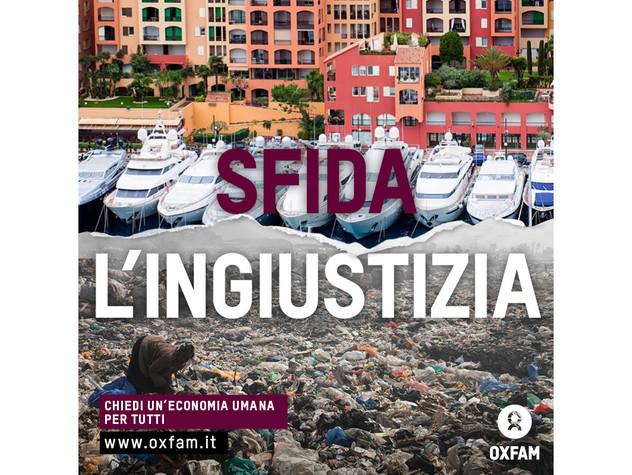 Economia Oxfam Italia diseguale il 20% 'Paperoni&#39 possiede il 70% della ricchezza