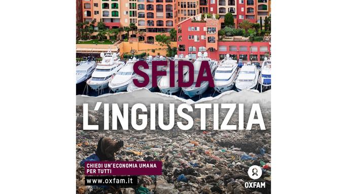 Oxfam, Italia diseguale: il 20% 'Paperoni' possiede il 70% della ricchezza