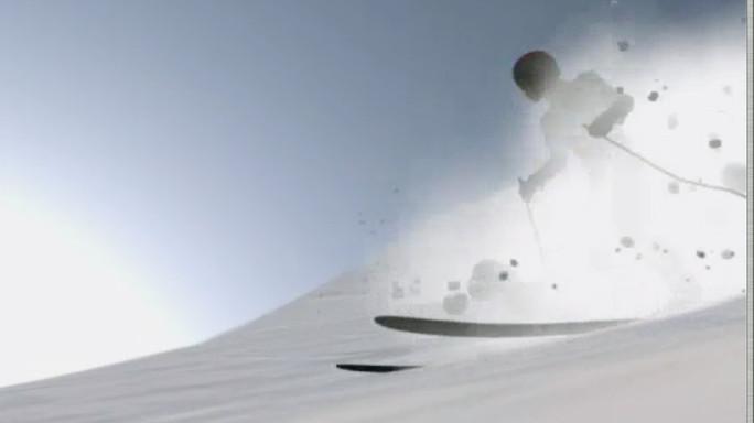 Come si formano le valanghe di neve