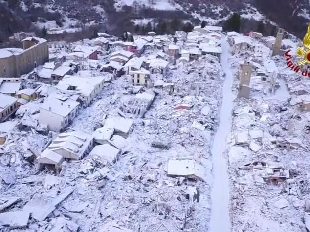 Sciame sismico tra L'Aquila e Rieti