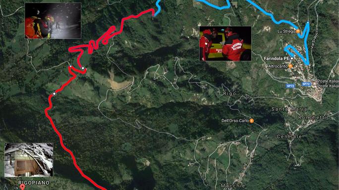Corsa contro il tempo dei soccorritori sotto la tormenta, 5 km in 2 ore