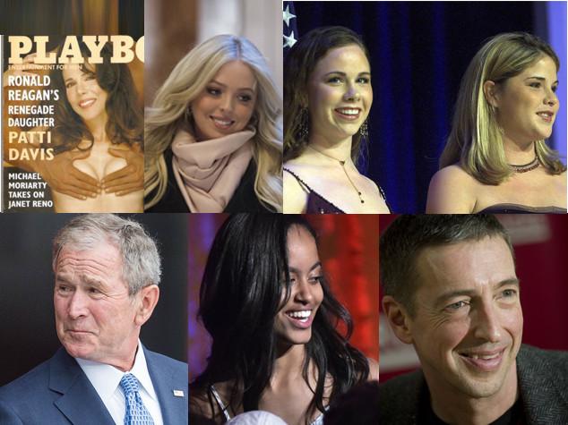 I figli ribelli dei presidenti Usa. E chi è riuscito a fuggire dalla Casa Bianca