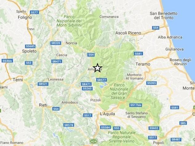 La terra trema ancora nel Centro Italia, 12 scosse nella notte