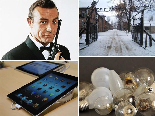 scoperta della lampadina : Dal brevetto della lampadina al primo iPad, i fatti del 27 gennaio