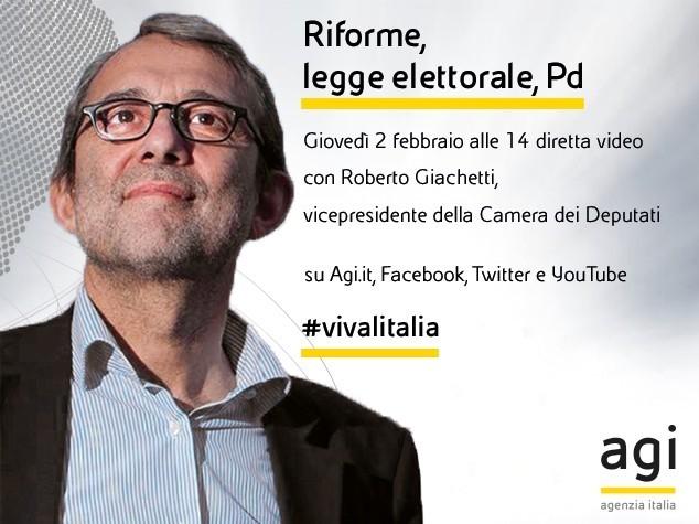 Roberto Giachetti in diretta web a 'Viva l'Italia'