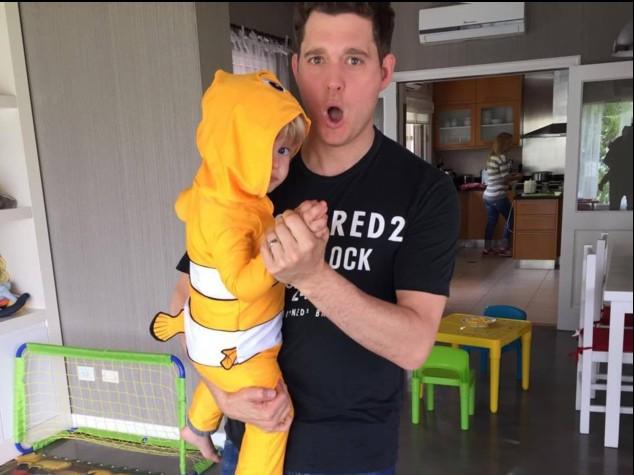 Michael Bublé: Mio figlio fa progressi nella lotta contro il cancro