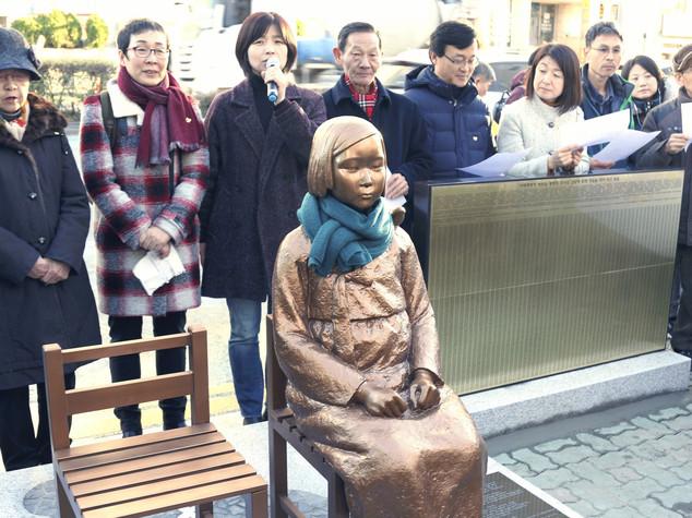 Perché Tokyo e Seul litigano per una statua. La ferita ...