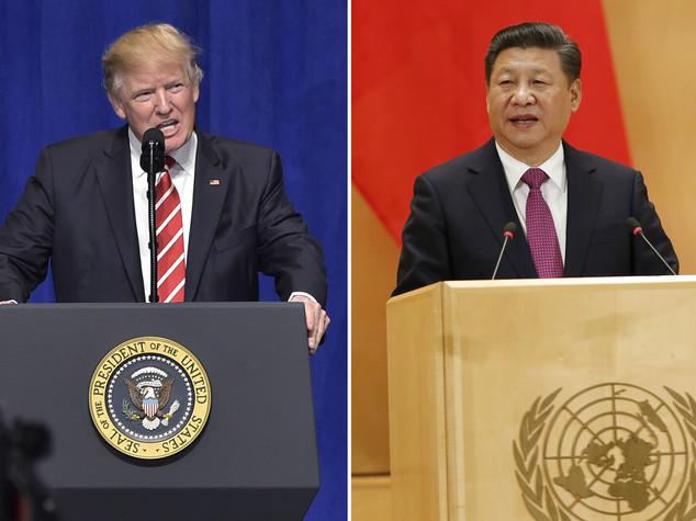 """Trump telefona a Xi Jinping e riconosce """"una sola Cina"""""""