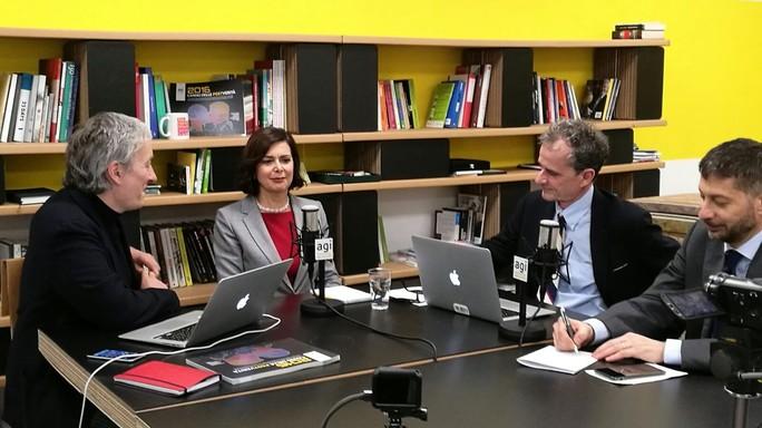 L'idea di un tavolo contro le bufale,  Laura Boldrini a Viva l'Italia