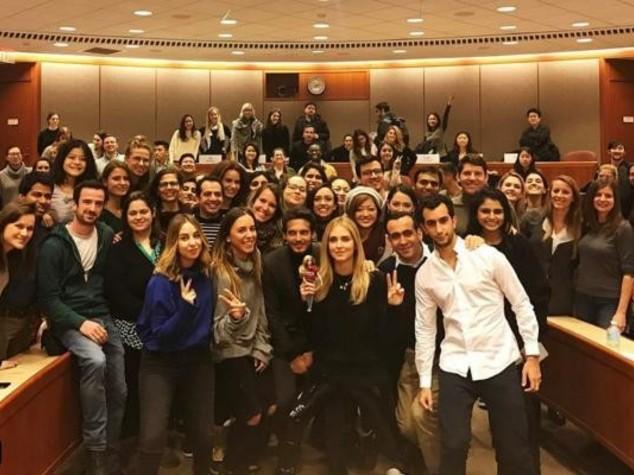 Come è andata la lezione di Chiara Ferragni a Harvard
