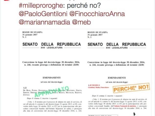 I precari dell'Istat si sono impadroniti dell'account Twitter dell'istituto