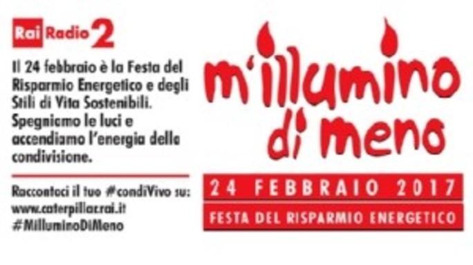 #milluminodimeno: Agi spegne le insegne il 24 febbraio