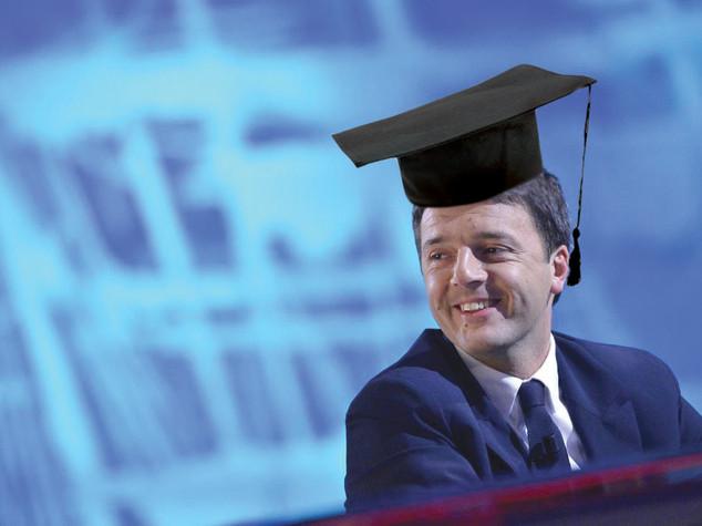 Il professor Matteo Renzi a Stanford