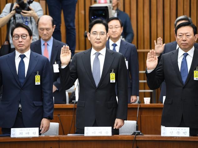 Caduta di un imperatore. Storia di Mr. Samsung