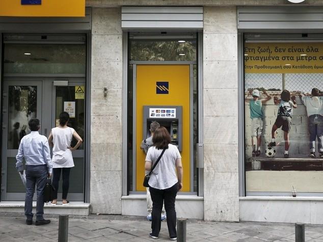 In Grecia fuga dalle banche  Tsipras e' ottimista su      ll'accordo