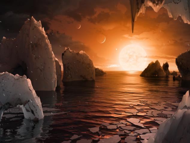 Nuovo sistema solare con 7 pianeti come la Terra