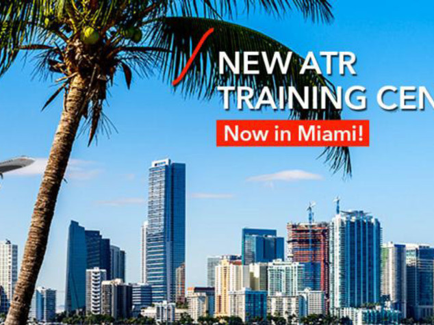 Aircraft: ATR opens a new Training Center in Miami