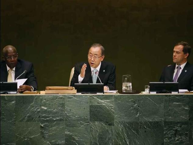 L'appello di Ban Ki-moon a Rohani per impegno in Iraq e Siria