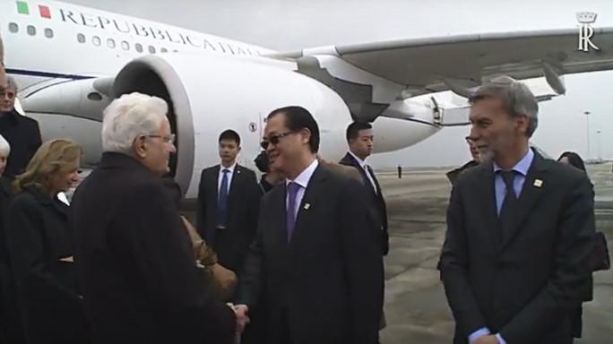 Il Presidente Mattarella a Chongqing