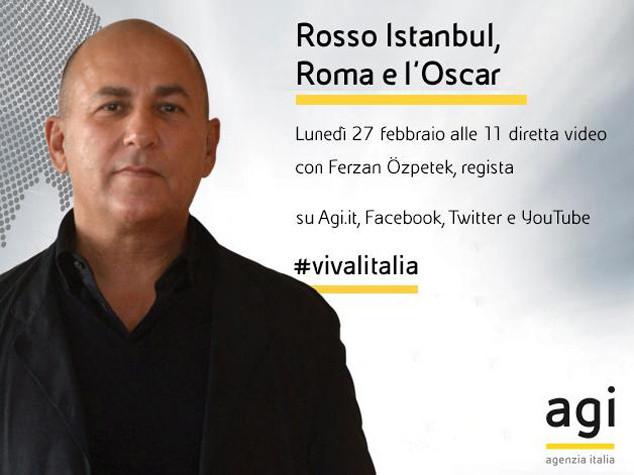 Alle 11 Ferzan Ozpetek in diretta web a 'Viva l'Italia'