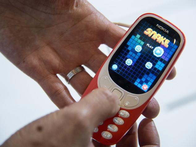 Torna il Nokia 3310. E c'è pure Snake