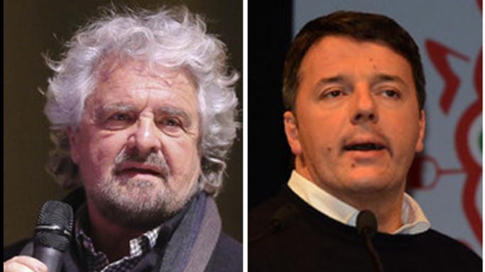 """Consip, scontro sui blog: Grillo """"Hai rottamato tuo padre"""", Renzi """"Ti auguro di tornare umano"""""""