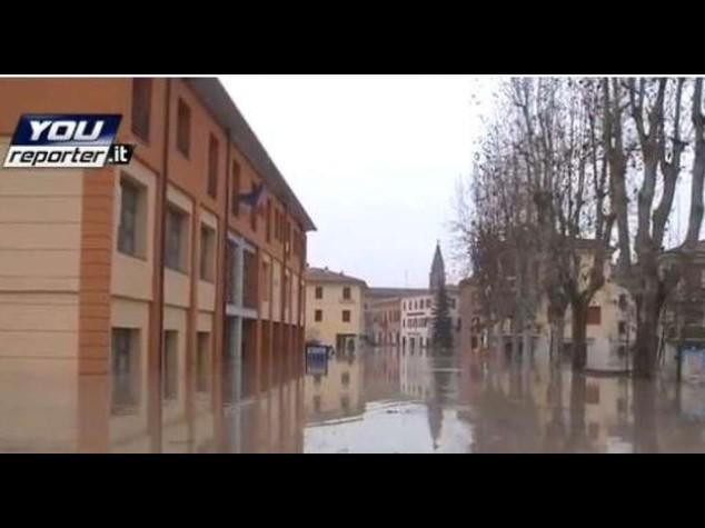 Alluvione nel Modenese: 80 milioni per danni anche tromba d'aria