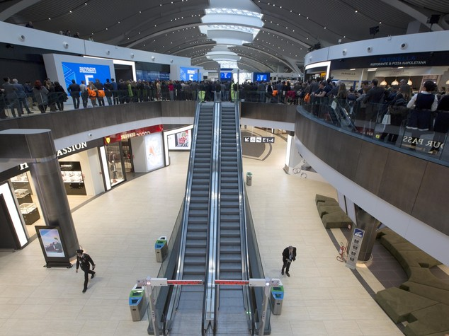 Rome's Fiumicino Airport features starred chefs cuisine