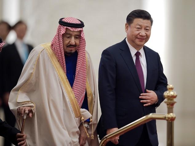 Cina: siglati 14 accordi con Arabia Saudita per 65 mld dollari