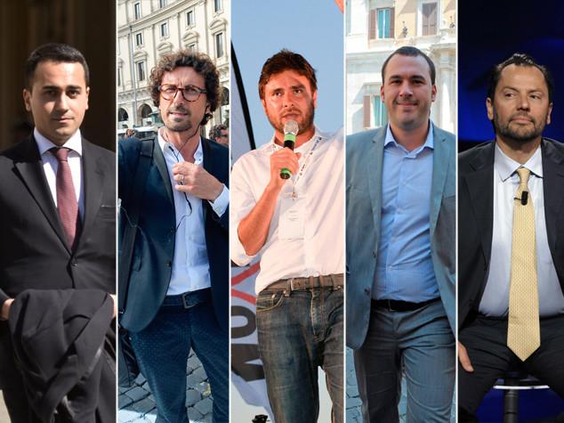Caso Genova, Di Battista con Grillo: