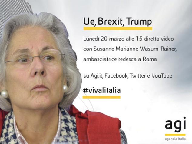 """L'ambasciatore tedesco in diretta web dalle 15 a """"Viva l'Italia"""""""