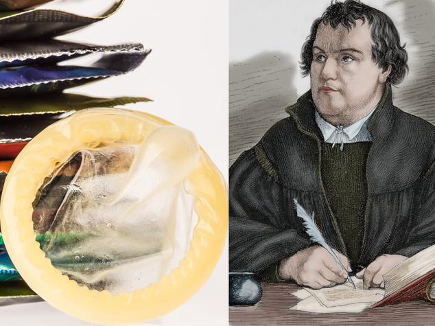 Motti di Lutero sui preservativi. L'idea dei giovani evangelici tedeschi