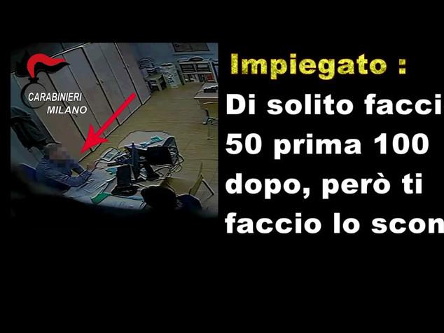 Soldi per bonus bebe', arrestato dipendente Comune nel Milanese - Video