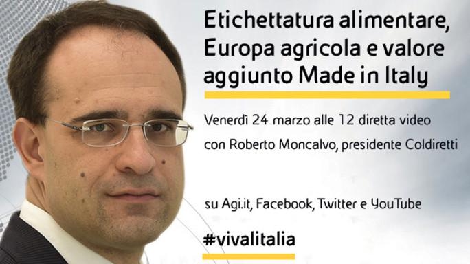 """Roberto Moncalvo in diretta web a """"Viva l'Italia"""""""