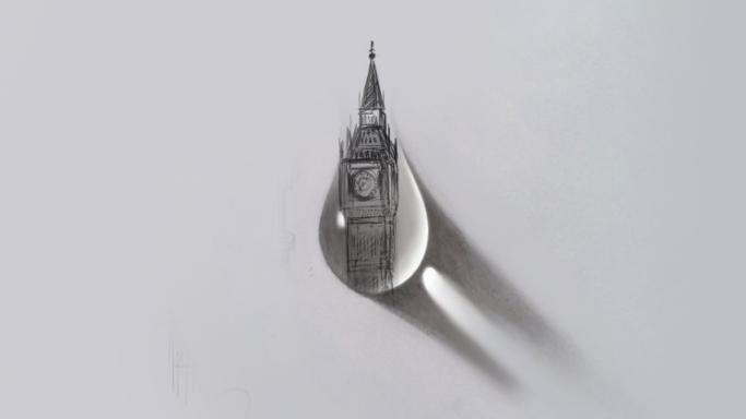 Diego Cusano, chi è il disegnatore della lacrima di Londra
