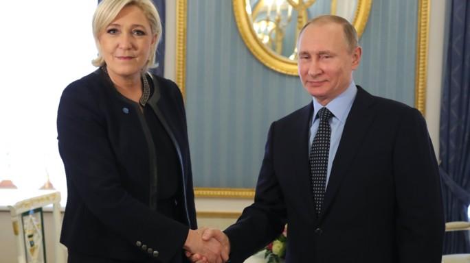 """Putin incontra Le Pen: """"Nessun aiuto economico"""""""